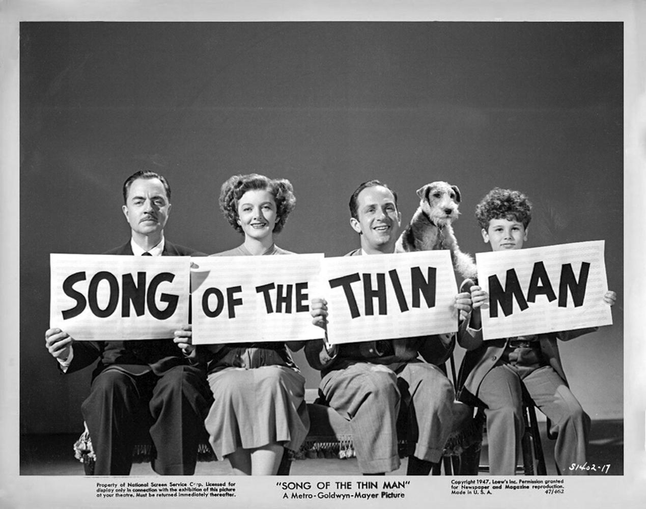 song of the thin man 1947 movie stills