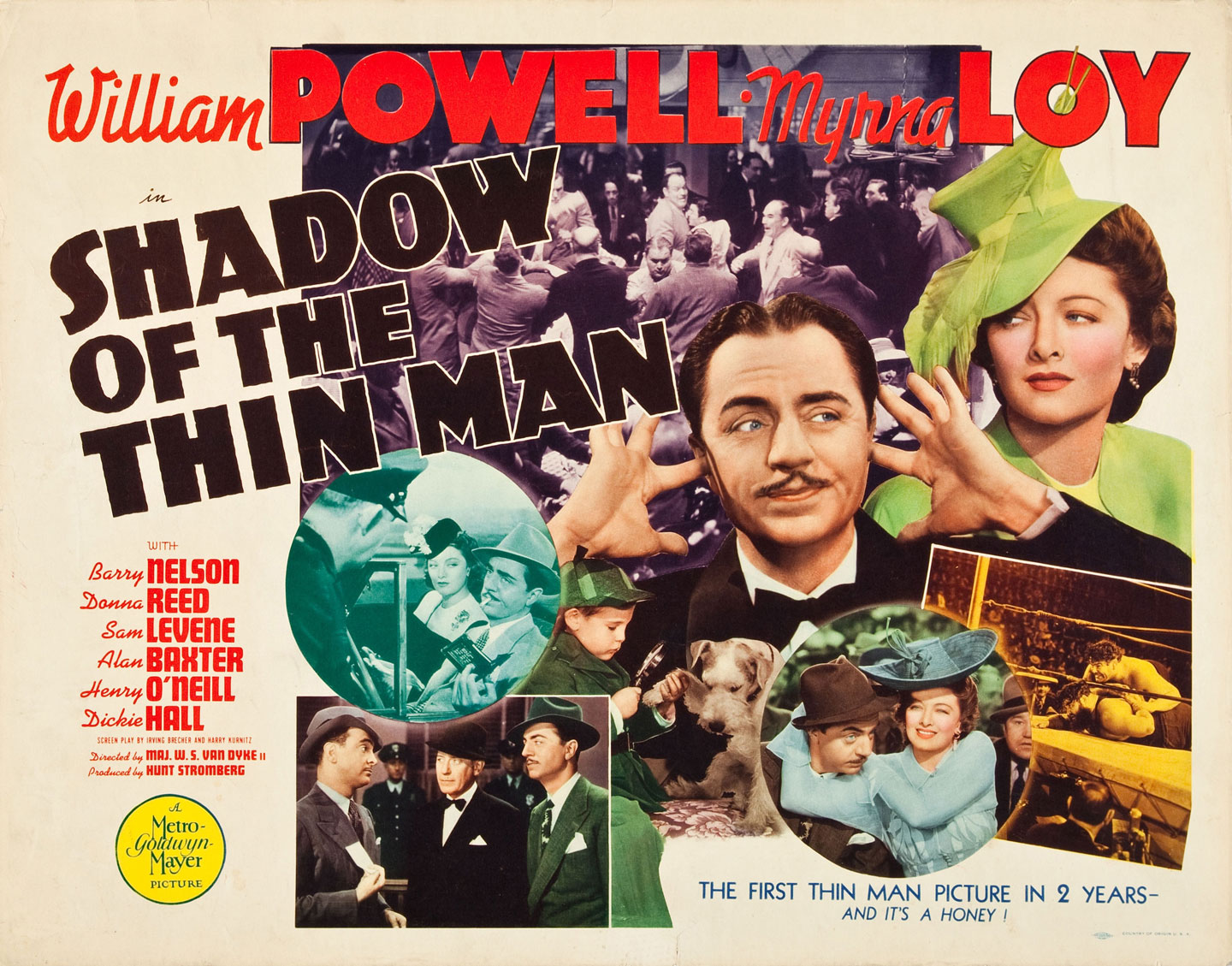 Image result for Shadow of the Thin Man 1941 poster