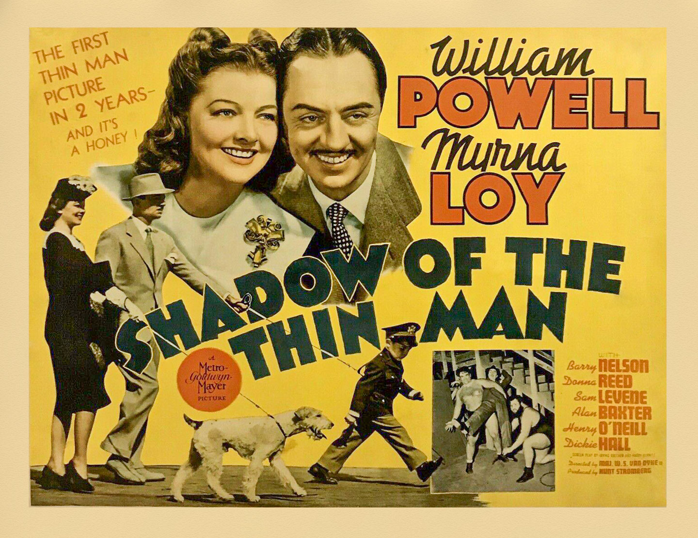 Image result for Shadow of the Thin Man 1941